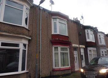Thumbnail 3 bed terraced house to rent in Kindersley Street, Middlesbrough