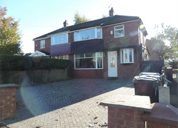 Thumbnail 3 bed semi-detached house for sale in Thatch Leach Lane, Whitefield, Manchester, Lancashire