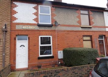 Thumbnail 2 bed end terrace house to rent in Powell Street, Latchford, Warrington
