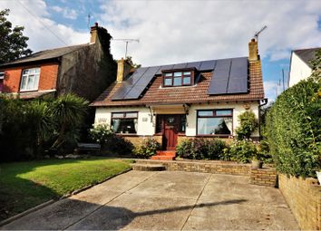 Thumbnail 3 bed detached house for sale in London Road, Basildon