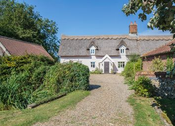 Thumbnail 4 bedroom cottage for sale in Pristow Green Lane, Tibenham, Norwich