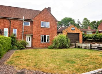 Thumbnail 3 bed semi-detached house for sale in The Green, Basingstoke