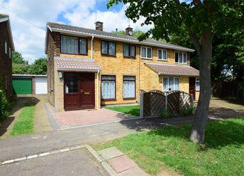 Thumbnail 3 bedroom semi-detached house for sale in Chertsey Rise, Stevenage, Hertfordshire