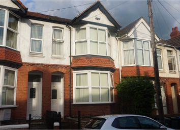 Thumbnail 3 bedroom terraced house for sale in Harefield Road, Coventry