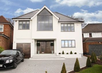Thumbnail 6 bed detached house to rent in Broadstrood, Loughton