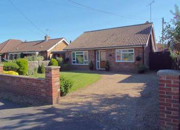 Thumbnail 2 bedroom bungalow for sale in Lenwade, Norwich, Norfolk