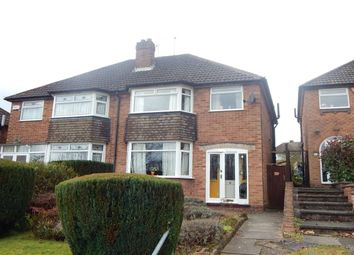 Thumbnail 3 bed semi-detached house for sale in Church Hill, Northfield, Birmingham