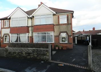 Thumbnail 4 bed semi-detached house for sale in Slinger Road, Thornton-Cleveleys, Lancashire