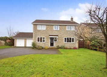 Thumbnail 4 bed detached house for sale in Folly Drive, Ditcheat, Shepton Mallet