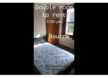 Thumbnail Room to rent in Park Road, Spalding