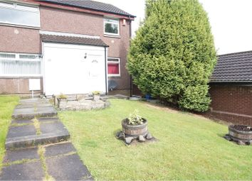 Thumbnail 2 bed end terrace house to rent in Faskin Place, Glasgow