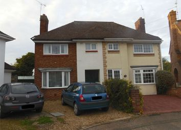 Thumbnail 3 bed semi-detached house to rent in Luddington Road, Peterborough, Cambridgeshire