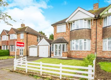 Thumbnail 3 bedroom semi-detached house for sale in Wintersdale Road, Leicester