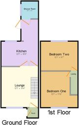Thumbnail 2 bed terraced house to rent in Morley Road, Barking, Essex