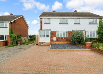 Thumbnail 3 bed semi-detached house for sale in Webb Close, Hoo, Kent
