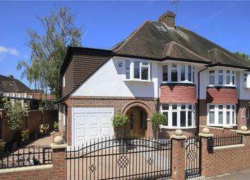 Thumbnail 4 bed semi-detached house for sale in Holland Avenue, West Wimbledon