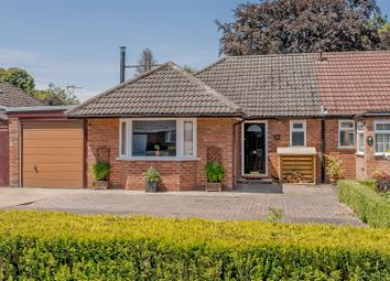 Thumbnail 3 bed semi-detached bungalow for sale in Constance Drive, Harbury, Leamington Spa, Warwickshire