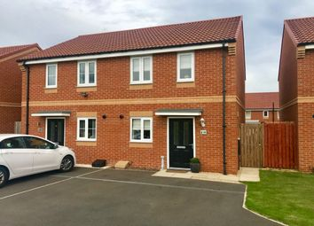 Thumbnail 2 bed semi-detached house for sale in Birchwood Grove, High Farm, Middlesbrough