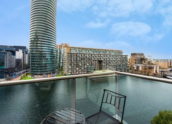 Thumbnail 2 bed flat for sale in Millharbour, London