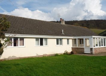 Thumbnail 4 bed detached bungalow to rent in Cathedine, Brecon