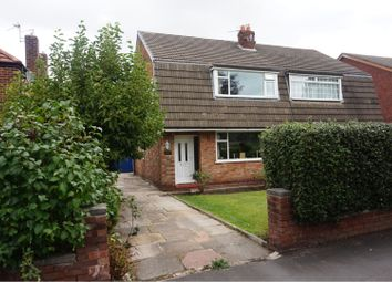 Thumbnail 3 bed semi-detached house for sale in Woodhouse Lane East, Altrincham