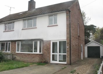Thumbnail 3 bed semi-detached house to rent in Highfield Road, Willesborough, Ashford, Kent