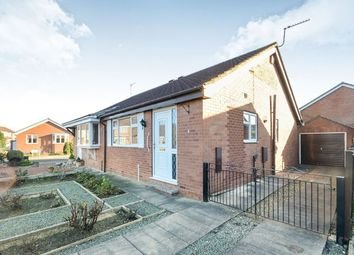 Thumbnail 2 bedroom bungalow for sale in Loxley Close, York
