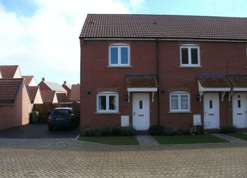 Thumbnail 2 bed terraced house to rent in Hawthorn Place, Didcot