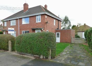 Thumbnail 3 bed semi-detached house for sale in Exeter Road, Wheatley, Doncaster.