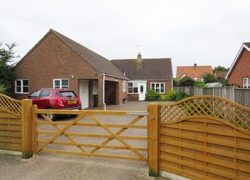 Thumbnail 3 bed detached bungalow for sale in Chapel Road, Mutford, Beccles