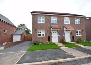Thumbnail 3 bedroom semi-detached house for sale in Barn Croft, Malpas