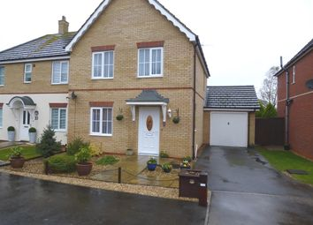 Thumbnail 3 bed semi-detached house for sale in Ibstock Close, Tydd St. Mary, Wisbech