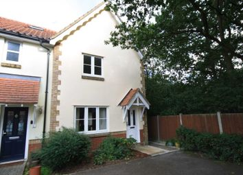Thumbnail 3 bed end terrace house to rent in Thistle Close, Laindon, Basildon