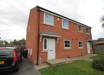 Thumbnail 3 bed semi-detached house to rent in St. Josephs Court, Burton Stone Lane, York