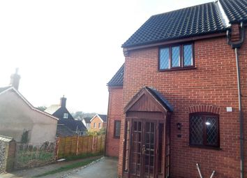 Thumbnail 3 bedroom semi-detached house to rent in Chandlers Hill, Wymondham