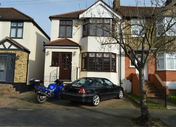 Thumbnail 3 bed semi-detached house to rent in Boscombe Avenue, Hornchurch, Essex