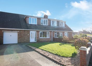 Thumbnail 3 bed semi-detached bungalow for sale in Bluestone Lane, Immingham, South Humberside