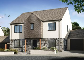 Thumbnail 4 bed detached house for sale in Halwyn Road, Crantock, Newquay