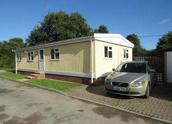 Thumbnail 3 bed mobile/park home for sale in Weston Wood Lodges, Weston-On-Trent, Derby