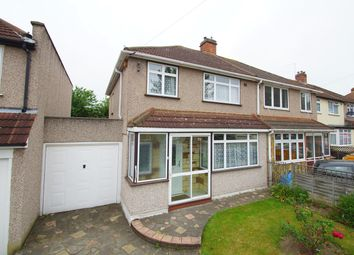 Thumbnail 3 bed semi-detached house for sale in Raeburn Road, Sidcup