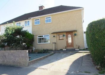 Thumbnail 3 bedroom semi-detached house for sale in Dew Crescent, Cardiff