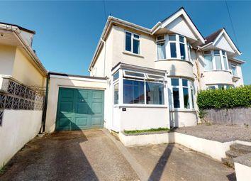 Thumbnail 3 bed semi-detached house for sale in Redburn Road, Paignton, Devon