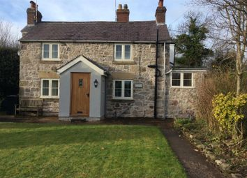 Thumbnail 1 bed cottage for sale in Cae Rhug Lane, Gwernaffield, Mold