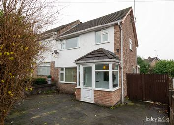 Thumbnail 3 bed semi-detached house for sale in 27 Redhill Drive, Bredbury, Stockport, Cheshire