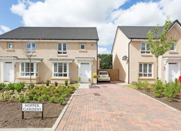 Thumbnail 3 bedroom semi-detached house for sale in 12 Hopper Gardens, Newcraighall