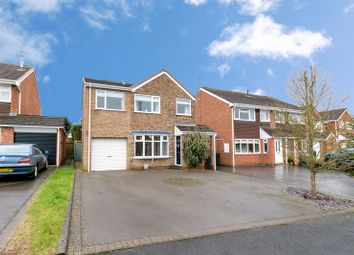 Thumbnail 4 bed detached house for sale in Moorfield Drive, Bromsgrove