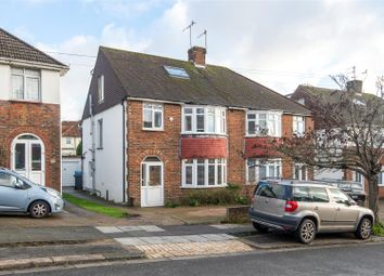 Thumbnail 5 bed semi-detached house for sale in Poplar Avenue, Hove