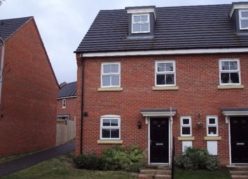 Thumbnail 3 bedroom town house to rent in Patenall Way, Higham Ferrers