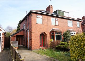 Thumbnail 4 bed semi-detached house for sale in Barmby Avenue, York