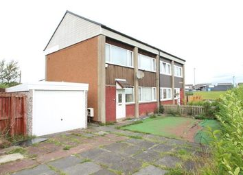 Thumbnail 3 bed semi-detached house for sale in Maxton Crescent, Wishaw, North Lanarkshire